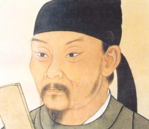 painting of Du Fu